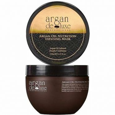 Argan DeLuxe 100% Pure Argan Oil Nutrition Infusing Mask 250ml Deeply Conditions