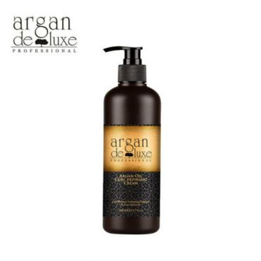 Argan Oil Curl Defining Cream by Argan Deluxe, 8.11 Oz./240 mL, 100% Argan Oil