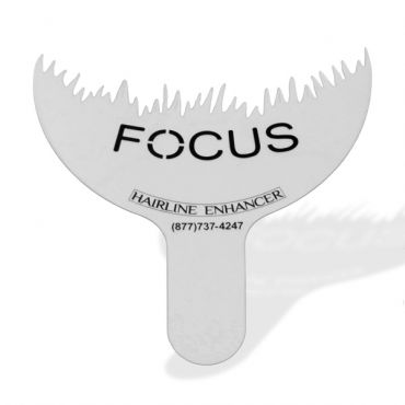 Focus Hairline Enhancer to Optimize Hair Building Fibers