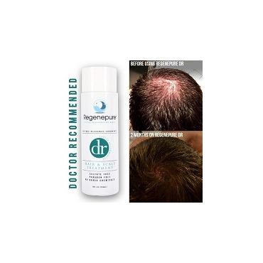 RegenePure DR Hair & Scalp Treatment 8 Oz - for Hair Loss, Hair Regrowth