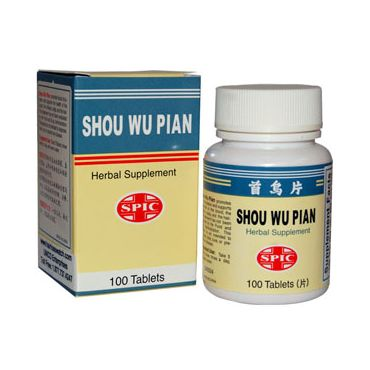 Shou Wu Tablets for Grey Hair