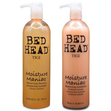 Tigi Bed Head Moisture Maniac Moisturizing Shampoo & Conditioner 25.36 Oz
